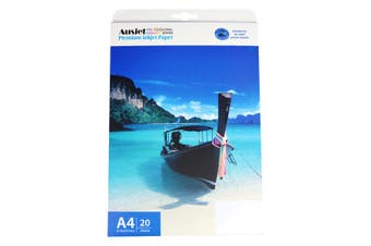 130gm A4 Double Sided Semi Gloss Photo Paper (20 Sheets)