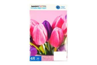 260gm (4x6) RC Glossy Photo (20 Sheets)