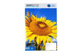 260gm (4x6) RC Soft Silky Photo (20 Sheets)