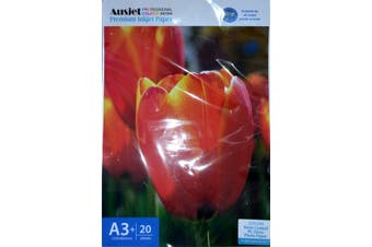 260gm A3+ RC Glossy Photo (20 Sheets)