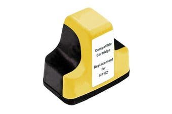 HP 02XXL Yellow Compatible Inkjet Cartridge
