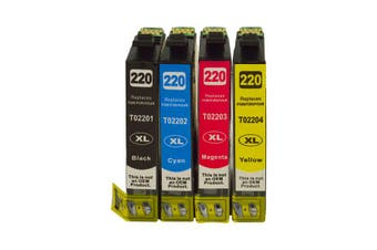 EPSON 220XL Series Premium Compatible Inkjet Cartridge Set [Boxed Set]