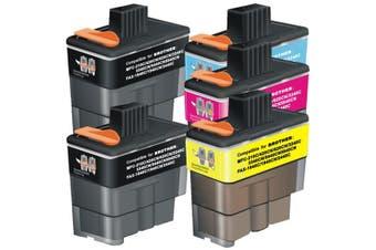 BROTHER LC47 Compatible Inkjet Cartridge Set 5 Ink Cartridges