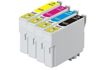 EPSON 138 Compatible Pigment Series Inkjet Set 4 Cartridges [Boxed Set]
