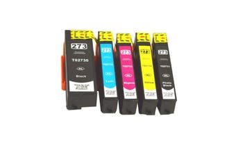 EPSON 273XL Compatible Inkjet Set 5 Cartridges [Boxed Set]