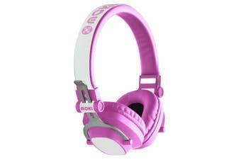 Moki EXO Kids Bluetooth Headphones - Pink