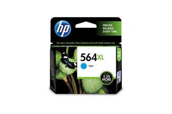 HP 564CXL (CB323WA) Original Cyan Extra Large Ink Cartridge - 750 Pages