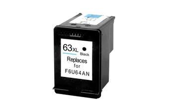 HP 63XL Black Remanufactured Inkjet Cartridge