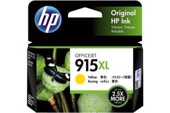 HP 915XL High Yield Yellow Original Ink Cartridge