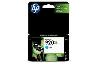 HP 920XL Cyan Ink Cartridge Suits OfficeJet 6500,Wireless