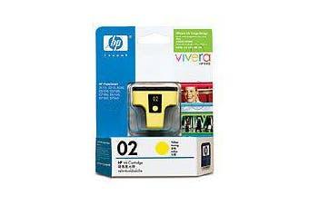 HP 02 AP YELLOWINK CARTRIDGE
