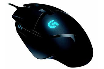 LOGITECH G402 Hyperion Fury FPS USB Gaming Mouse 8 Programmable Buttons 4000 DPI High Speed Super Fast 1ms Response Time