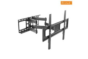 BRATECK Economy Solid Full Motion TV Wall Mount for 37'-70' LED, LCD Flat Panel TVs