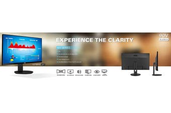 AOC 27' IPS 5ms, 4K 3840 x 2160, DP, HDMI, Flicker Free, Low Blue Mode Business Monitor. (LS)