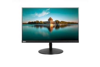 LENOVO ThinkVision T24I-10 23.8' FHD IPS WLED Monitor - 1920x1080, VGA, DP,HDMI, Audio,USB3.0 Hub, Height Adjustable, Tilt, Pivot, Swivel 3YR (LS)