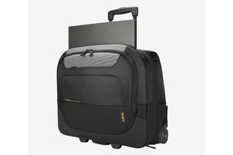 TARGUS 15-17.3' CityGear III Horizontal Roller Laptop Case for Travel - Black