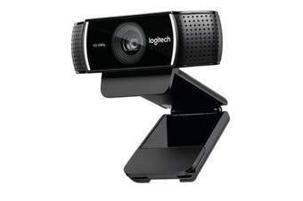 LOGITECH C922 Pro Stream Full HD Webcam 30fps at 1080p Autofocus Light Correction 2 Stereo Microphones 78° FoV 3mths XSplit License Chinese Version