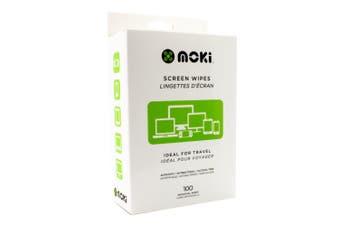 MOKI Screen Wipes Box (100)