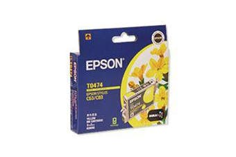 EPSON T047 Yellow Ink Cart C63/C65/C83/CX3500/CX6500