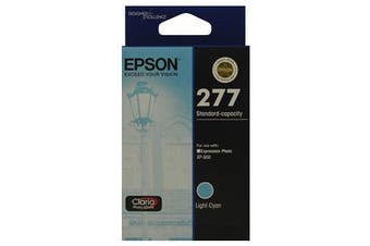 EPSON 277 LightCyan,Std Capacity Ink, Claria Photo HD