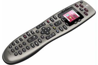 LOGITECH Harmony 650 Remote Universal Remote Control Colour smart display One-click activity buttons Replaces 8 remotes Intuitive design