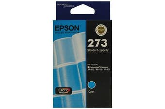 EPSON 273 Std Cap Photo Cyan For XP-600, XP-700, XP-800