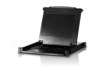 ATEN 17' LCD KVM Slide Console RackMountable, Keyboard (3PL)