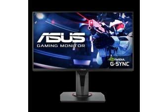 ASUS VG258Q 24.5' Gaming Monitor, Full HD, 1ms, 144Hz, TN, G-SYNC Compatible, Adaptive-Sync, Free-Sync, 1xHDMI/DP/DVI-D, 2x2W Audio