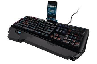 LOGITECH G910 Orion Spectrum RGB Mechanical Backlit Gaming Keyboard Romer-G Switches 9 customizable G-Keys 113 Anti-Goshting Key USB Power Palm Rest