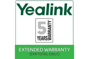 YEALINK Years Extended Return To Base (RTB) Yealink Warranty $50 value