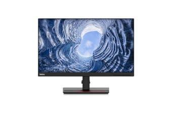 LENOVO ThinkVision T24I-20 23.8' FHD IPS WLED Monitor - 1920x1080, VGA, DP, HDMI, Audio, USB3.0 Hub, Height Adjustable, Tilt, Swivel, 3YR