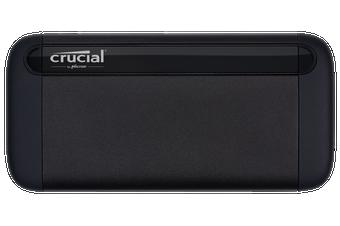 MICRON (CRUCIAL) X8 500GB External Portable SSD ~1050MB/s USB3.2 USB-C USB3.0 USB-A Durable Rugged Shock Proof PC MAC PS4 Xbox Android iPad Pro ~HXS-PT5-500GB