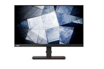 LENOVO ThinkVision P24Q-20 23.8' QHD 2K Monitor - 2560x1440, DP, HMDI, Audio, USB3.0 Hub, Pivot, Height Adjustable, Tilt, Swivel, 3YR
