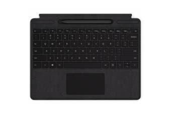 MICROSOFT Surface Pro X Signature Keyboard with Slim Pen Bundle - Black Commerical