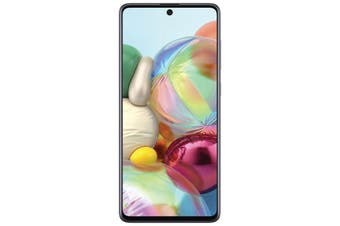 SAMSUNG Galaxy A71 Silver - 6.7' Screen Size, Octa Core Processor, Quad Camera,128GB Inbuilt Memory exp to 512GB Via MicroSD Card