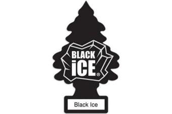 New Little Trees Air Freshener - BLACK ICE - Car & Home & Office