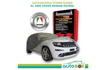 Autotecnica 4WD Car Cover Stormguard Waterproof to 5.4M XL for Nissan Patrol