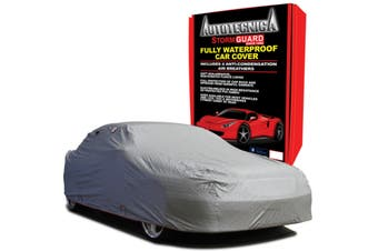 XXL Waterproof Car Cover Storm Guard Plush Fleece NEW + BAG Cars to 5.8M