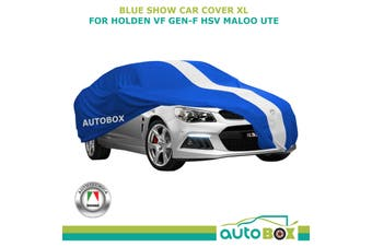 Autotecnica Show Car Cover for Holden VF Gen-F HSV Maloo UTE Softline BLUE XL