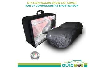 Autotecnica Station Wagon Show Car Cover Black suits VF Commodore R8 Sportwagon