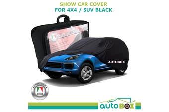 4WD SUV Show Car Soft Dust Cover Black suits Porsche Cayenne Wagon GTS Turbo