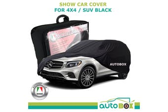 Autotecnica 4WD SUV Show Car Cover Black suits Mercedes GLE CLC AMG Protection