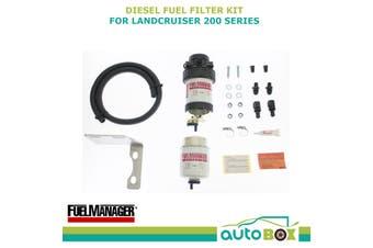 Diesel Fuel Filter Water Separator for Toyota Landcruiser 200 V8 Dual Battery