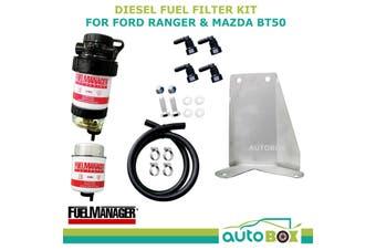 Diesel Fuel Filter Water Separator Ford PX Ranger Mazda BT50 with bracket 2011+