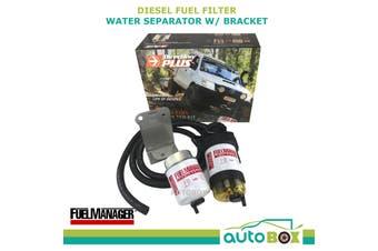 Diesel Fuel Filter Water Separator for Toyota Landcruiser 75 78 79 Bracket ARB