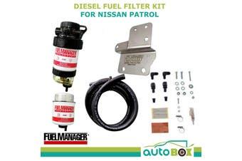 Diesel Fuel Filter Water Separator Pre-Filter for NISSAN PATROL Y61 GU 3.0L 4.2L