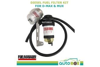 Diesel Fuel Filter Water Separator Isuzu D-MAX / MUX 4JJ1 2013-2017 Dual Battery