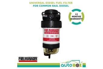 Diesel Fuel Filter / Water Separator Universal Pre-Filter Common Rail Diesel Kit