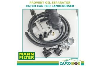 Oil Separator Catch Can fit Landcruiser VDJ 76 78 79 V8 TD Provent 2007 onward