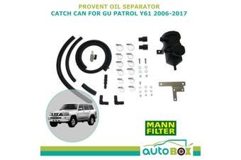 Provent Oil Separator Catch Can for Nissan Patrol GU Y61 3.0 ZD30 DDTi 2006-2017